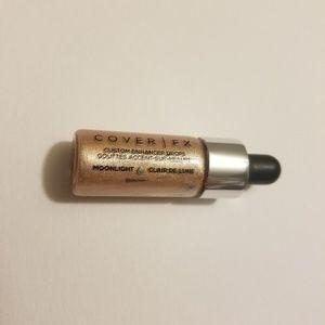 3/$15 Cover FX Custom Enhancer Drops Trvl sz Moonl